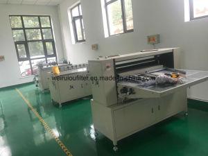 Máquina de pregueamento pregueamento máquina de papel filtro de ar fazendo a máquina