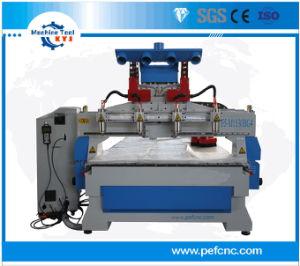 マルチスピンドル3D木製の切り分けるCNCのルーター機械(M1530BG4)