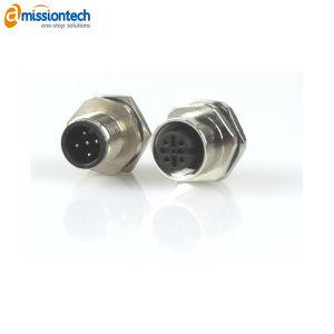 ケーブルが付いているM12 RFのコネクターアセンブリ