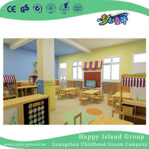 Kind-Bibliotheks-Bücherschrank-und Kind-Schreibtisch-Stühle (tsssj-2-F)
