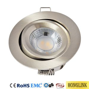 El calor ajustable Ultra Slim LED Empotrables de techo LED IP20, Foco de luz hacia abajo