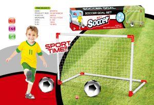 Los nuevos niños jugando al fútbol el deporte Toy