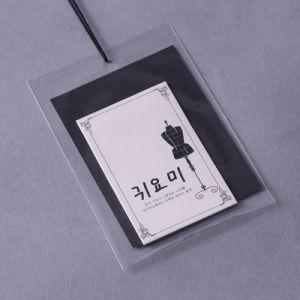 El arte Hangtag de papel con cubierta de la prenda de vestir