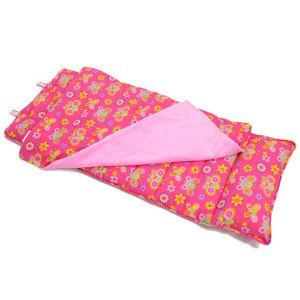 赤い花の携帯用Seletedの物質的な子供の寝袋