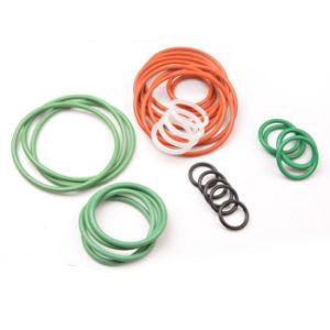 NBR EPDM Silikon Viton SBR Nr rote Farben-Gummi-O-Ring