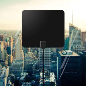 Antenna dell'interno ultra sottile di HDTV 50 miglia di intervallo con la prestazione eccellente
