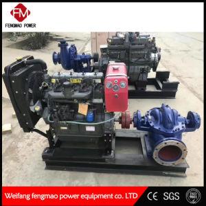 Unité de pompe d'alimentation diesel de 8 pouces l'unité de pompe mobile de la pompe d'eaux usées