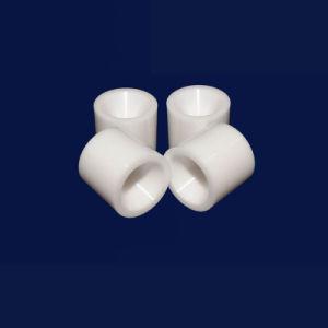Alto tubo di ceramica dell'ossido di alluminio dell'acido alcalino di resistenza della boccola Al203