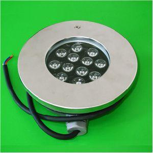 Nuevo 12W 12V LED de luz de la piscina de acero inoxidable