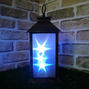 3D Hologram Big LED Sky Lantern Lighting