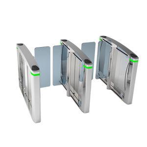 Cancello del cancello girevole del treppiedi della scheda di RFID con lo scanner biometrico dell'impronta digitale dello scanner del codice a barre del lettore di schede di identificazione