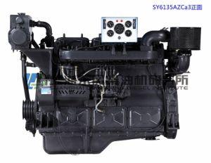 Mariene Motor, 135 Reeksen, 158.4kw, 4-slag, Met water gekoelde, Directe Injectie, Gealigneerd, de Dieselmotor van Shanghai Dongfeng voor de Reeks van de Generator, Motor Dongfeng