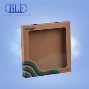 Установите флажок в окне коричневый крафт-бумаги