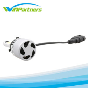110W/Pair車LEDのヘッドライトキットH11の穂軸LEDのヘッド電球6000k 9600lmは車のための光ビームヘッドライトを選抜する