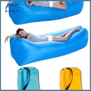 Ar Vendas quente espreguiçadeira 210d dormindo Lazy saco insuflável