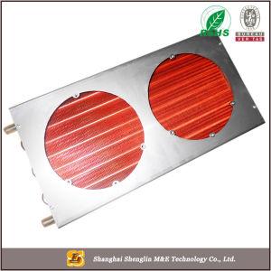 商業エアコンのためのアルミニウム管の銅のひれの熱交換器