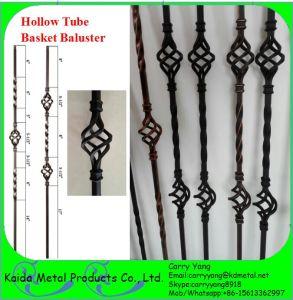 米国及びカナダPopular Wrought Iron Ornamental Basket Metal Stair BalustersまたはSpindles