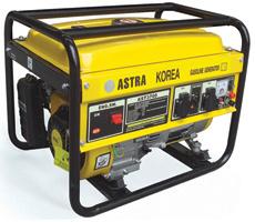 2.0~6.0 Kw Portable Gasoline Generator (Astra韓国シリーズ)