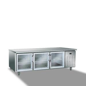 세륨 승인 상업적인 스테인리스 작업대 냉장고 냉장고