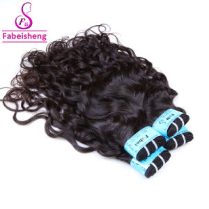Grossista humano real extensão de cabelo Brasileiro Hair tecem