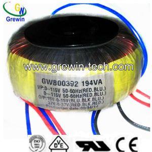50W-1000W Transformador toroidal para Audio
