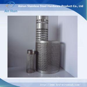 O filtro de metal perfurado de aço inoxidável de barris/tubos/costura