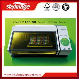 Tavolo di Roland Lef-200 direttamente obiettare stampante a base piatta UV