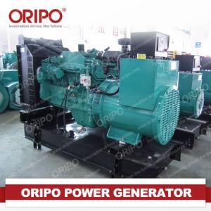 Grupo gerador a diesel com material de cobre do Radiador do Ventilador