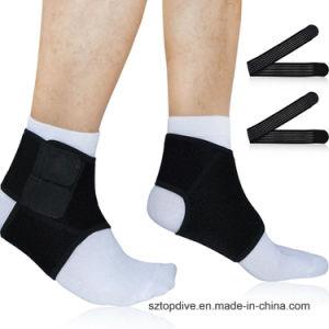 Neoprene respirabile su ordinazione della parentesi graffa di sostegno della caviglia di sport di colore solido di marchio