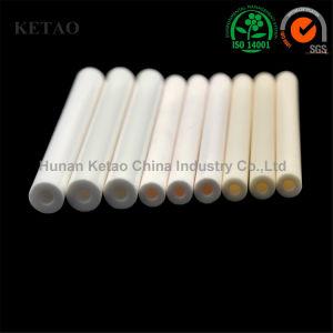 La pureza del 99 de tubo de cerámica de alúmina para calefacción horno, horno de tubo de aluminio de tubo de protección de contacto
