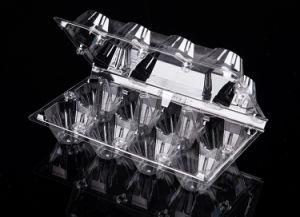 Bac d'oeufs en PVC Cher la Chine Suppplier Boîtes de rangement en plastique