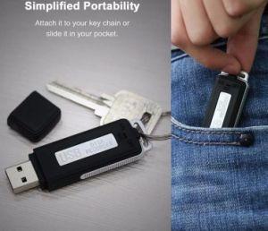 Mini audio scheda ricaricabile di TF di sostegno del registratore del USB Digital