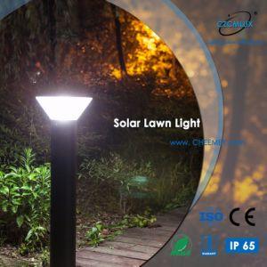 En el exterior de aluminio de fundición de la luz solar césped LED para jardín