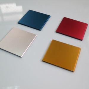 Extrusión de aluminio para disipador de calor y el radiador de aparato doméstico.