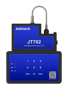 Contenedor de bloqueo y desbloqueo electrónico GPS por Bluetooth teclado contraseña SMS Software APP para la carga del sistema de seguridad