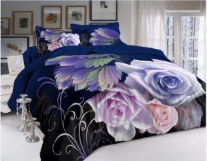 Conjunto de roupa de cama de animação 3D /Professional Fabricação 3D a roupa de cama/Folha de roupa de cama de desenhos animados de poliéster