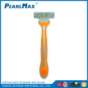 人のための三重の刃のステンレス製の刃の使い捨て可能な剃るかみそり