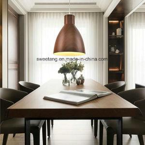 木製カラー装飾が付いている装飾の軽いシャンデリアのペンダント灯
