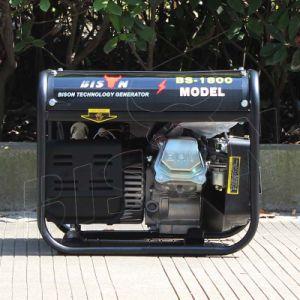 Bison (Chine) BS1800n 1kw de haute qualité de l'essence de groupe électrogène portable