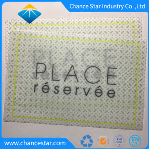 Kundenspezifischer Druck, der Gebrauch-heiße Nahrungsmitteltisch-Plastikmatte speist