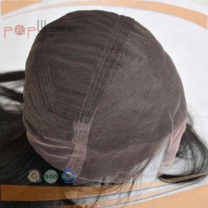 人間の毛髪手によって結ばれる作業完全なレースのかつら(PPG-l-0837)