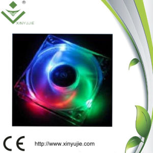 Ventilador 80X80X25 de la C.C. de las pequeñas luces de la fábrica de Shenzhen 12V 24V 80m m