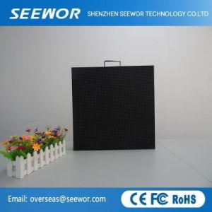 La haute définition P4mm à l'intérieur de l'écran LED