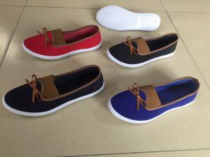 La fábrica China de la moda casual mujer Zapatos de lona plana