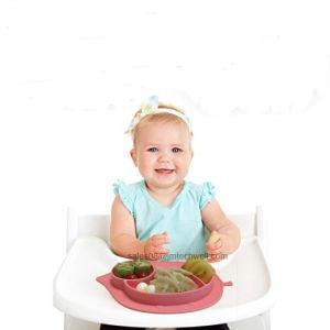 De in het groot Ééndelige Kindervoeding Placemat van het Silicone/Plaat