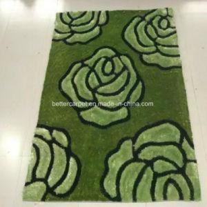 El coreano hogar Jacquard de microfibra azul suave alfombra Shaggy Fábrica de Alfombras nuevo diseño de interiores Tufted Alfombra de exterior