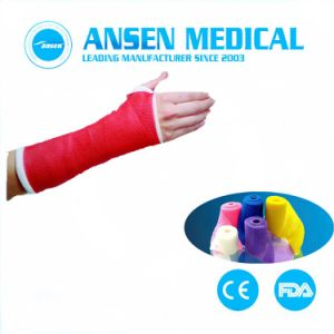 FDA keurde de Waterdichte Gietende Band van de Glasvezel goed Orthopetic