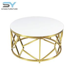 Sala mobília moderna fábrica de mesa de café em vidro mesa de café
