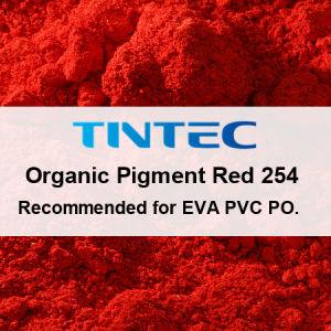 カラーのりを作り出す有機性赤い顔料254