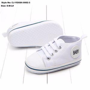 Baby Canvas Sneakers chaussures de marche à semelle souple antidérapant